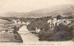 CPA 64 Pyrénées Cambo Les Bains Vue Générale La Nive Et Le Mont Ursuya + Arnaga Chateau De M. Rostand Non Circulés - Cambo-les-Bains
