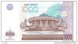 UZBEKISTAN P. 82 1000 S 2001 UNC - Ouzbékistan