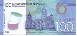 Nicaragua  P-212   100 Cordobas  2014  UNC - Nicaragua