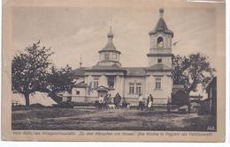 AK-16265-17  östlicher Kriegsschauplatz , Zu Den Kämpfen Um Kowel , Die Kirche In Poginki Als Feldlazarett - Weltkrieg 1914-18