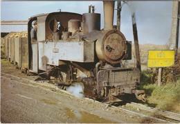 TOURY Locomotive 030 T Decauville Manoeuvrant Une Rame A La Sucrerie - France