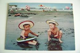 JAPAN  SWIMMING SEASON  BAMBINO KIND CHILD  BAMBINA  FILLETTE  FILLE  BAMBINI  ENFANT  ENFANTS - Disegni Infantili