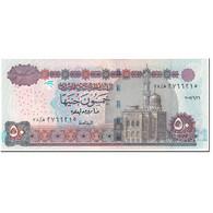 Billet, Égypte, 50 Pounds, 2007, Undated (2007), KM:66f, NEUF - Egypte