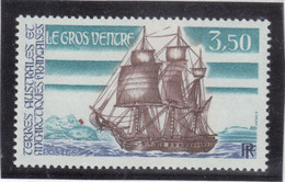 "B15 - TAAF - PO 135 ** MNH De 1988 - Bateau "" LE GROS VENTRE "" ( Issu De Série ) - Terres Australes Et Antarctiques Françaises (TAAF)"
