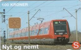 Denmark, DD 122Ca, Dsb S-train, Only 10000 Issued, 2 Scans.   10.98 , Chip :DK-D1 - Danimarca