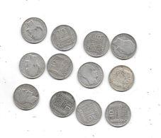 Lot De 12 Pièces 10 Francs TURIN ,1930:1931:1932:1933:1934 - France