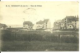 62 - WISSANT / VUE DE VILLAS - Wissant