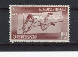 JORDANIE - Y&T N° 422* - Jeux Olympiques De Tokyo - Saut à La Perche - Jordanie