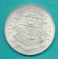 Elizabeth II - 1966 - 5 Dollars - KM10 - Bahamas