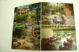 RIMINI - VILLA MEROPE   DOUBLE CARD  CARTOLINA DOPPIA    NON  VIAGGIATA COME DA FOTO LEGGERE PIEGHE - Hotels & Restaurants