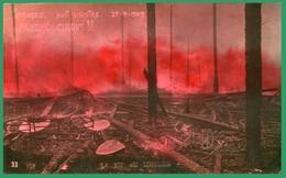"""87. HAUTE-VIENNE - LIMOGES. Incendie Du Cirque Municipal : """"Paubré Cirqué !!"""". Nuit Sinistre 27.09.1909. - Limoges"""