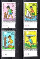 Maldive  - 1979. Bimbi Con Giocattoli. Children With Toys. Complete MNH Series - Giochi