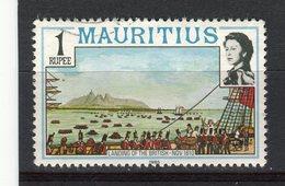 MAURICE - Y&T N° 459° - Arrivée Des Anglais En 1810 - Maurice (1968-...)