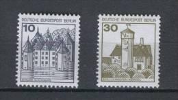 BERLIN Burgen+Schlösser Letterset Nr.532II + 534II, Postfrisch - [5] Berlín