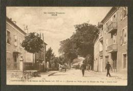 CP-Langogne - L'Avenue De La Gare - Entrée En Ville Par La Route Du Puy - Langogne