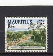 MAURICE - Y&T N° 836° - Route Mahebourg-Curepipe - Maurice (1968-...)