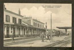 CP-LANGOGNE 48 LOZERE - La Gare - Langogne