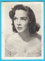 KATHRYN GRAYSON ... Yugoslav Vintage Collectiable Gum Card Issued 1960's - Cinema & TV