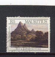 """MAURICE - Y&T N° 689° - Aquarelle """"Les Trois Mamelles"""" - Maurice (1968-...)"""