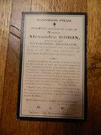 WILLERZIE:SOUVENIR DE DECE DE ALEXANDRE ROBIN VEUF CATHERINE CHARLIER 1831-1912 - Images Religieuses