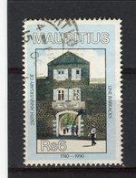 MAURICE - Y&T N° 742° - Caserne - Maurice (1968-...)