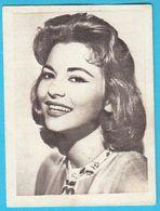 GIOVANNA RALI ... Yugoslav Vintage Collectiable Gum Card Issued 1960's - Cinema & TV