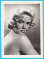 DOROTHY MALONE ... Yugoslav Vintage Collectiable Gum Card Issued 1960's - Cinema & TV