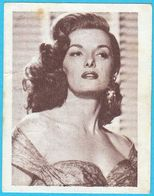 JANE RUSSELL ... Yugoslav Vintage Collectiable Gum Card Issued 1960's - Cinema & TV