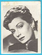 RUTH LEUWERIK ... Yugoslav Vintage Collectiable Gum Card Issued 1960's - Cinema & TV