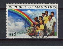 MAURICE - Y&T N° 775° - Proclamation De La République - Maurice (1968-...)