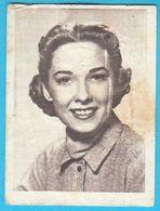VERA MILES ... Yugoslav Vintage Collectiable Gum Card Issued 1960's - Cinema & TV
