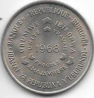 *burundi 10 Franc 1968  Km 17   Unc - Burundi