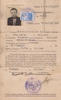 SOUMAGNE 1948 Carte De Séjour Délivrée à Kryszczak Ressortissant Polonais Né à Amberg En 1926 - Cartes