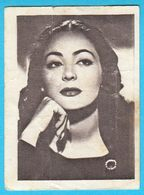 COLUMBE DOMINIQUEZ ... Yugoslav Vintage Collectiable Gum Card Issued 1960's - Cinema & TV