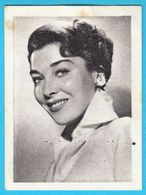 VIRGINIA LEITH ... Yugoslav Vintage Collectiable Gum Card Issued 1960's - Cinema & TV