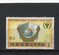 MAURICE - Y&T N° 746° - Alphabétisation - Maurice (1968-...)