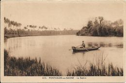 PONTAILLER SUR SAONE La Saône - France