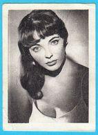 JOAN COLLINS ... Yugoslav Vintage Collectiable Gum Card Issued 1960's - Cinema & TV