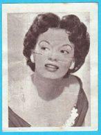 JOAN EVANS ... Yugoslav Vintage Collectiable Gum Card Issued 1960's - Cinema & TV