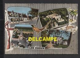 DF / 45 LOIRET / LES CHOUX / L' EGLISE , AUBERGE DU LION D' OR , CHÂTEAUX DE CORMONT ET DE LA FAISANDERIE - Autres Communes