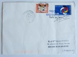 1998 Covers, Saint Melaine Sur Aubance, France, Treguier Master Commandant, Benin - Marcophilie (Lettres)