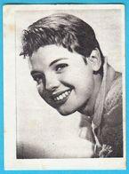 LILI GENTLE ... Yugoslav Vintage Collectiable Gum Card Issued 1960's - Cinema & TV