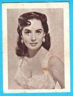 SUSAN CABOT ... Yugoslav Vintage Collectiable Gum Card Issued 1960's - Cinema & TV