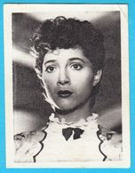 MILENA DAPCEVIC ... Yugoslav Vintage Collectiable Gum Card Issued 1960's * Serbia Ex Yugoslavia Actress - Cinema & TV