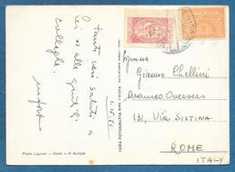 ROYAUME DU L'ARABIESAUDITE WITH TIMBRE DE BIENFAISANCE 1951 DAMMAN RUINS OF TURKISH CASTLE - Arabia Saudita