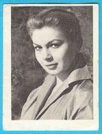 MILETIC GORDANA ... Yugoslav Vintage Collectiable Gum Card Issued 1960's * Serbia Ex Yugoslavia Actress - Cinema & TV