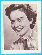 METKA GABRIJELCIC ... Yugoslav Vintage Collectiable Gum Card Issued 1960's * Slovenia Ex Yugoslavia Actress - Cinema & TV