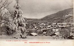 GERARDMER Sous La Neige - Gerardmer