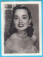 ANN BLYTH ... Yugoslav Vintage Collectiable Gum Card Issued 1960's - Cinema & TV