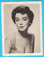BARBARA RUSH ... Yugoslav Vintage Collectiable Gum Card Issued 1960's - Cinema & TV